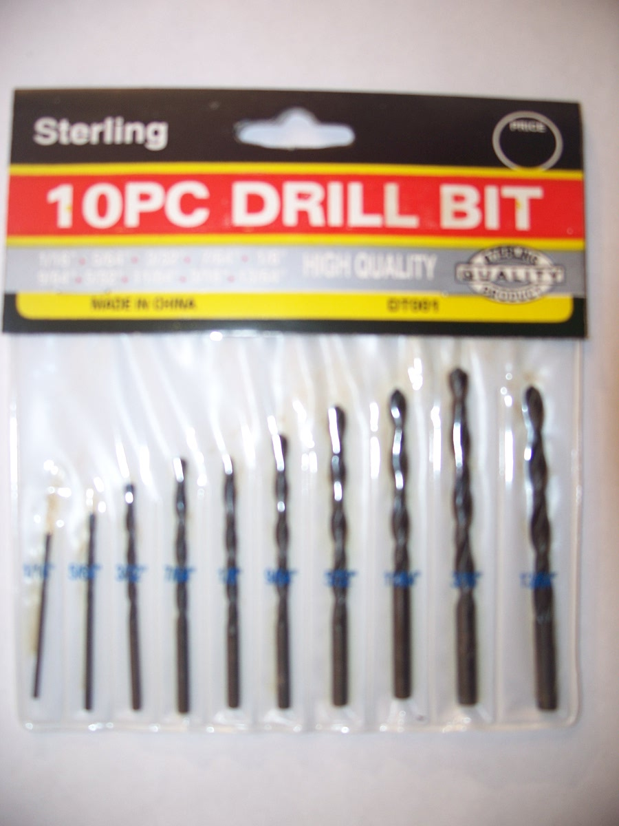 Sterling 10pc Drill Bit Set