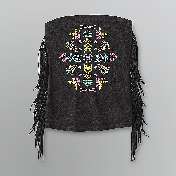 Bongo Sz L Juniors Tube Top Tribal Black