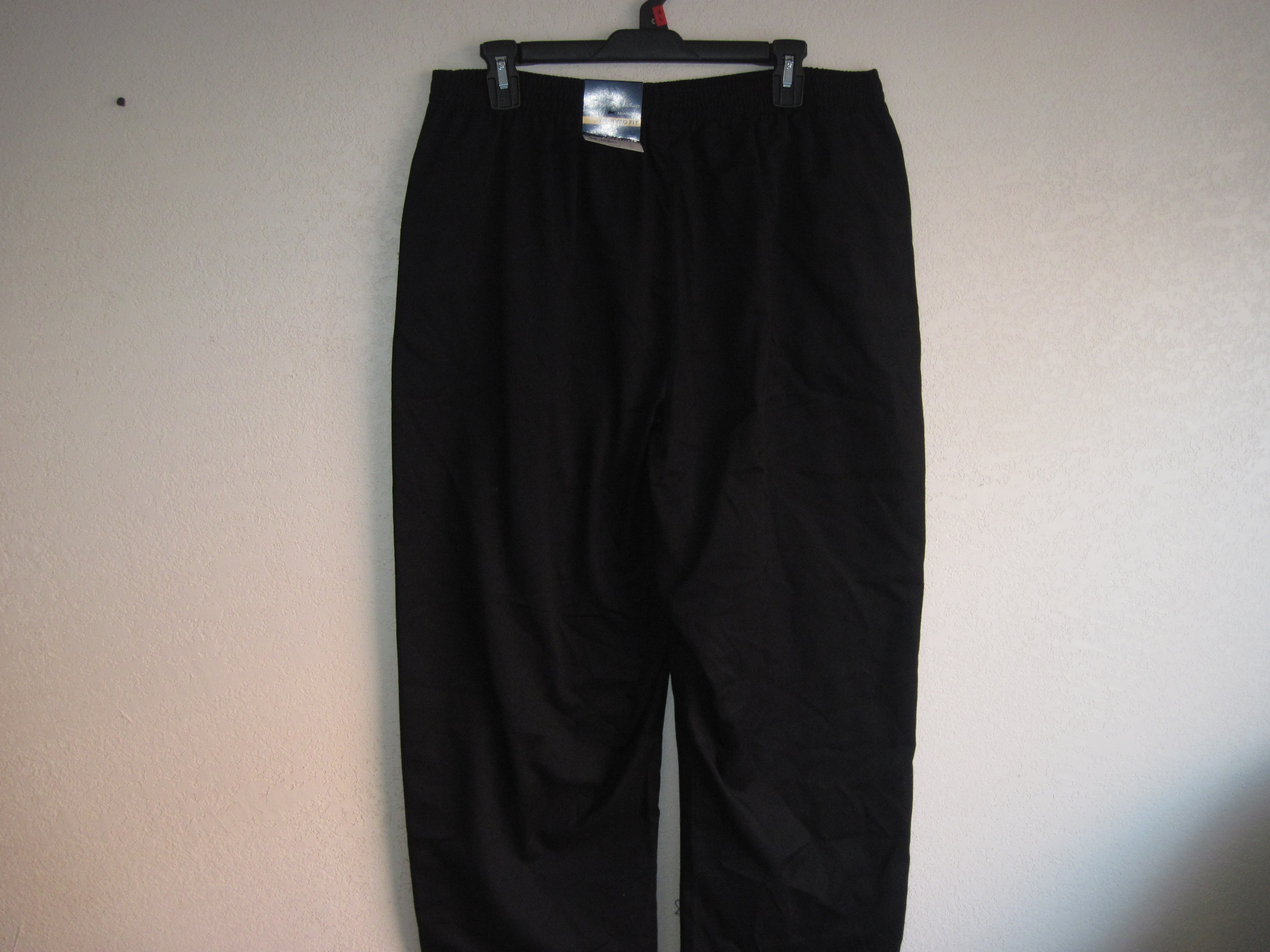 Basic Editions Sz XL Twill Pant (black)
