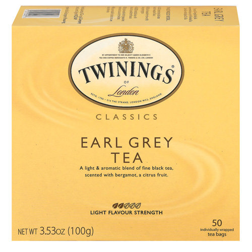 Twinings Of London Earl Grey Tea Bags, 50ct