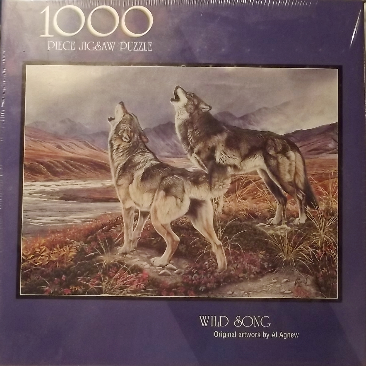 BITS AND PIECES WILD SONG PUZZLE 1000 PIECE JIGSAW PUZZLE by AL