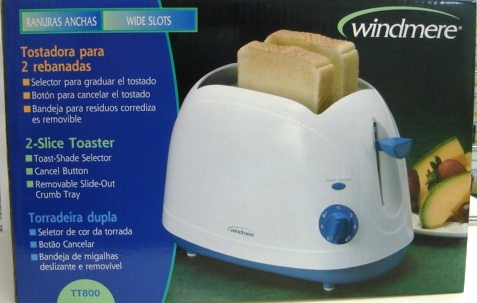 Windmere 2-Slice Toaster