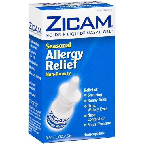 Zicam Non-Drowsy, Seasonal Allergy Relief .5 Fl Oz